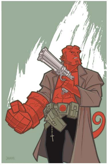 Hellboy by JasonHoward