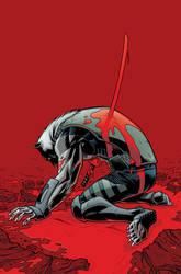 Wolf-Man 17 Cover by JasonHoward