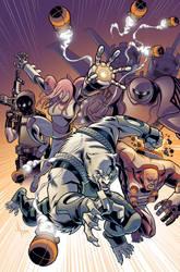 Wolf-Man 18 Cover by JasonHoward
