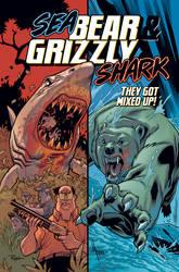 Sea Bear and Grizzly Shark by JasonHoward
