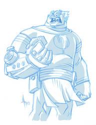 Conquest sketch by JasonHoward