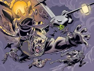 Wolf-Man 25 Page 26-27 by JasonHoward