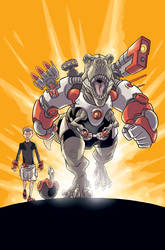 Super Dinosaur 1 Cover