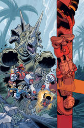 Super Dinosaur 13 Cover