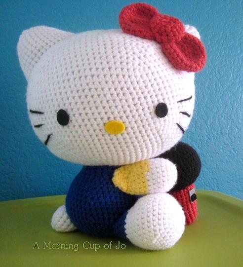 Amigurumi Schemi Hello Kitty Gratis : Amigurumis Hello Kitty patrones espanol - Imagui