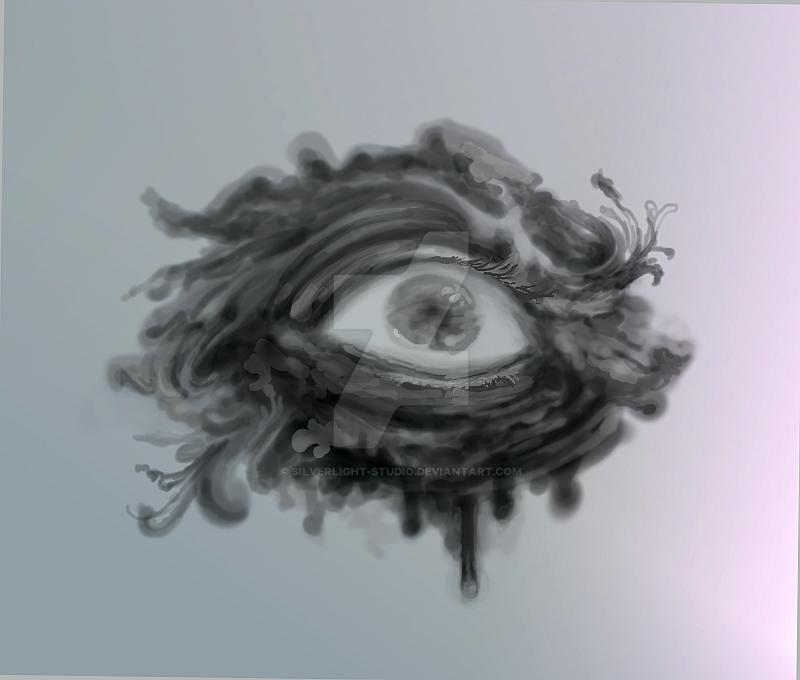 Eye Drawing in Krita by silverlight-studio