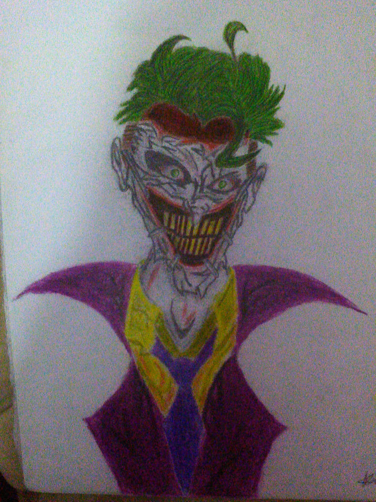 The Joker by AbyssWarggen