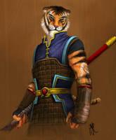 Tigrus Warrior by chanchan222