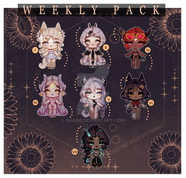 SET PRICE Weekly Pack I - OPEN( 3/7 )!