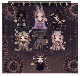 Weekly Pack/ Set Price II CLOSED - Ty!