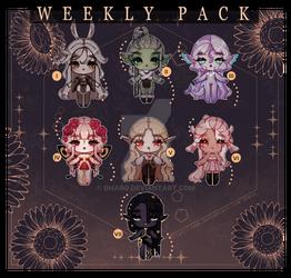 Weekly Pack/ Set Price III CLOSED - Ty!