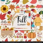 Fall clipart by danieladenny