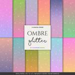 Glitter digital paper by danieladenny