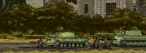 *spoilers* Jagdpanther and Porsche King Tiger by the95mexican
