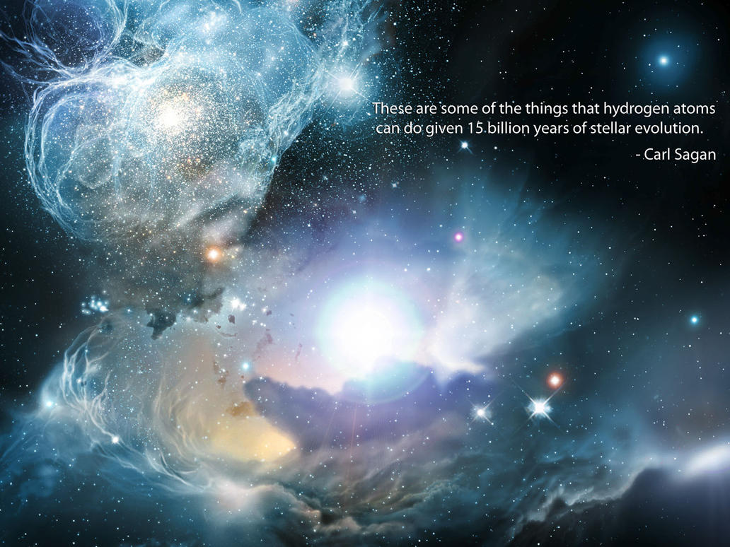 Carl Sagan Love Quote Fascinating Carl Sagan  03Aguelmann On Deviantart