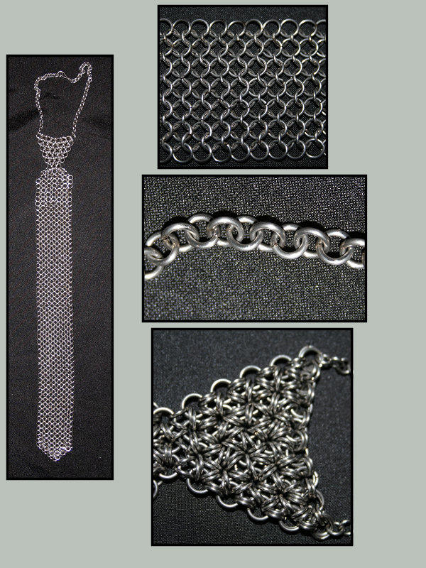 Chain mail tie by laaksans