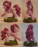 MLP:FIM Pinkie Pie model side views by uBrosis