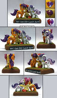 MLP:FIM We Got Our Cutie Marks! multi by uBrosis