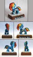 MLP:FIM Crystal War Rainbow Dash Multi by uBrosis