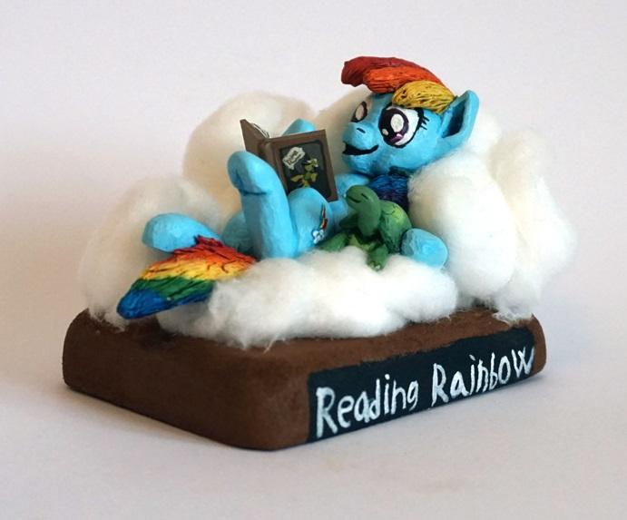 MLP:FIM Reading Rainbow by uBrosis
