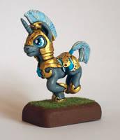 MLP:FIM Unicorn Royal Guard by uBrosis