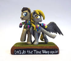 MLP FIM: Let's do the Time Warp again! by uBrosis