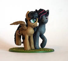 MLP:FIM OC Artsong and Antares