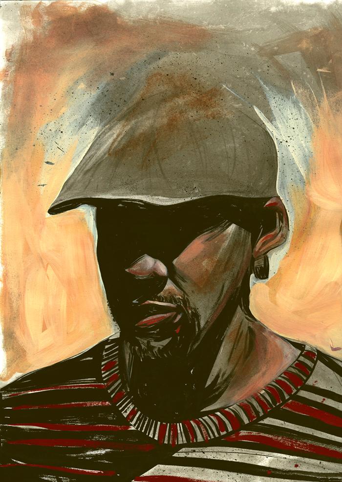 Self-Portrait by Laharu