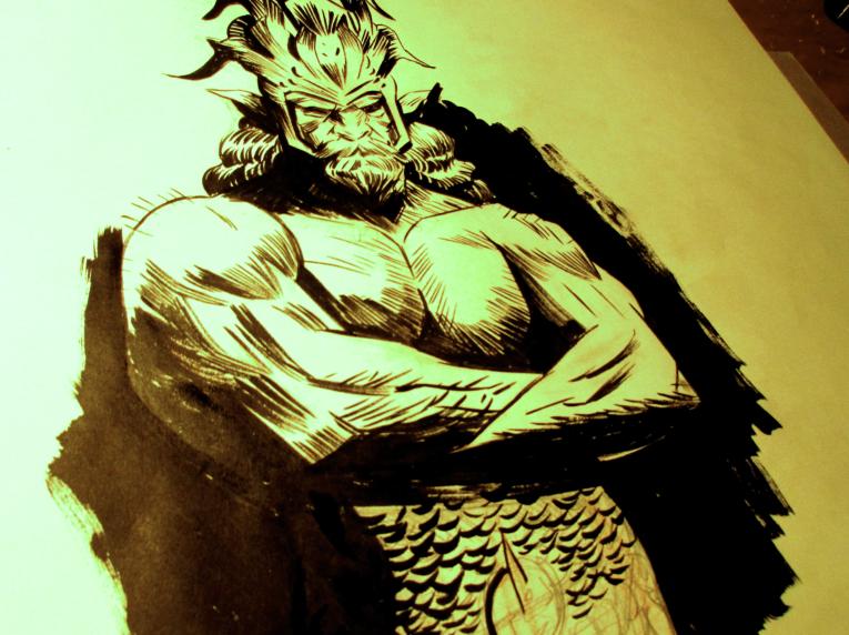 Warlock Doodle by Laharu
