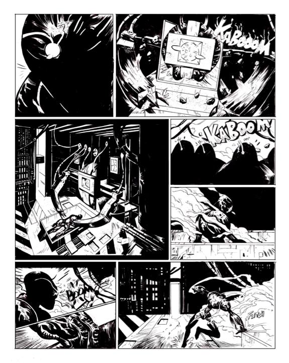 Random Comic Page 1 by Laharu