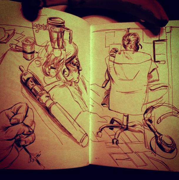 SketchBook A3 by Laharu