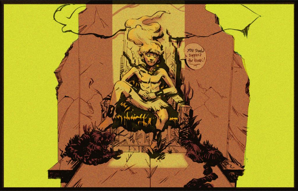 The Mushroom King by Laharu
