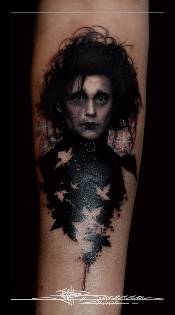 Tattoo Edward Scissorshands by jbecerra