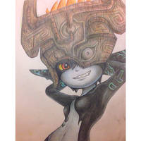 Midna: hyrule warriors by Stanglass