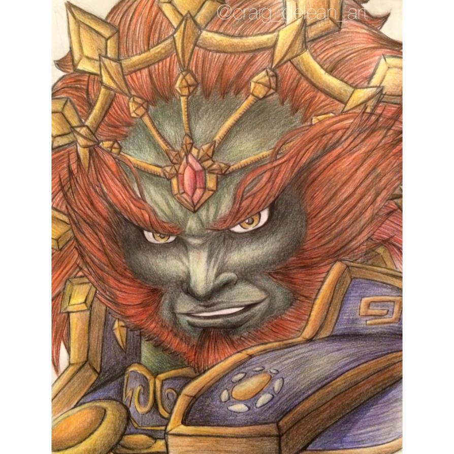 Ganondorf: Hyrule Warriors by Mimibert