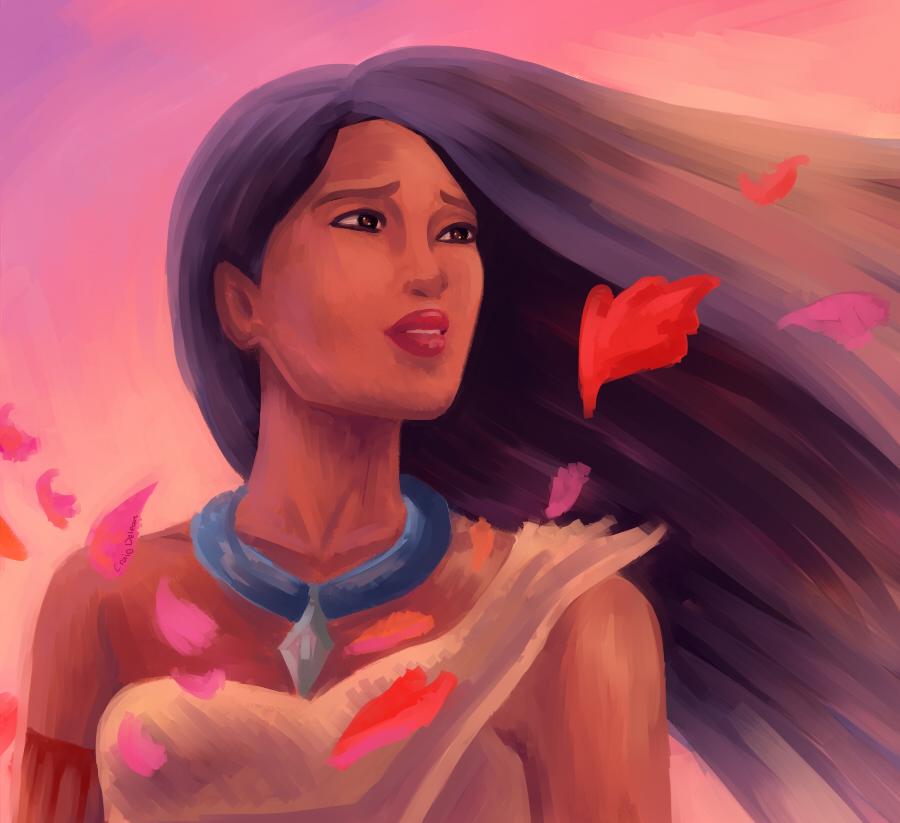 Pocahontas by Mimibert