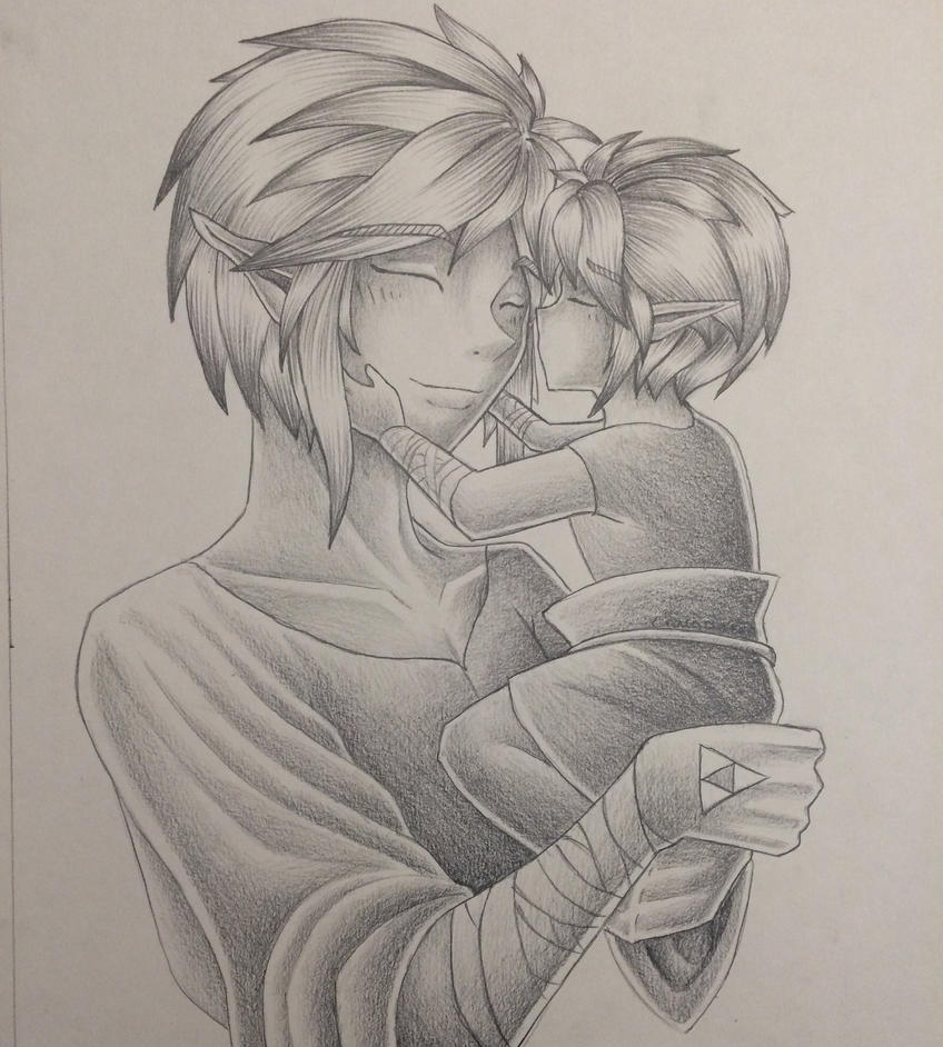 Father Link Doodle  by Mimibert