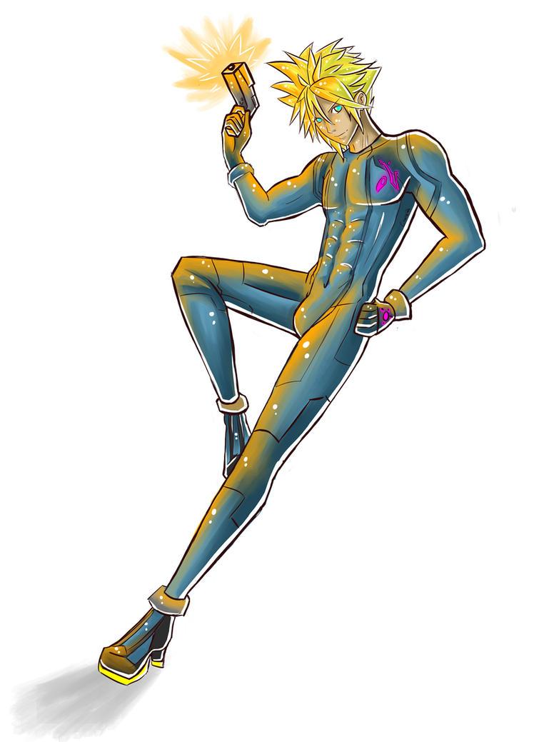 Zero Suit Cloud: Concept Doodle by Mimibert