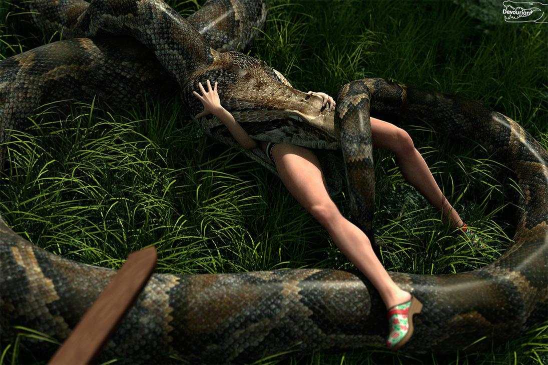 monster girl snake vore