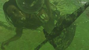 Drown in Slime. RandomNightRender 2017-02-04