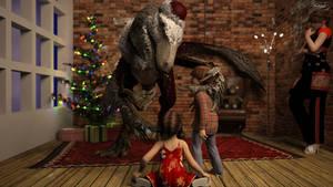 2018-12-24 Santa Claws by Devouriant