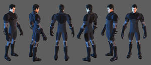 Hero Toon Batfamily Suit