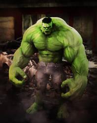 Toonish Hulk by 6and6