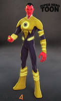 Sinestro Toon
