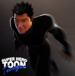 Super Hero Toon Teenager by 6and6