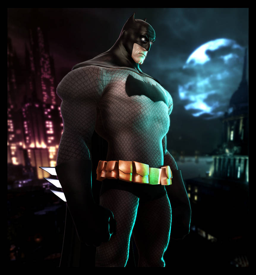 Animated Style Batman