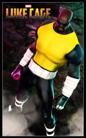 Animated Shape Luke Cage by 6and6