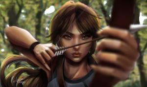 Lara Croft by Junelya