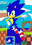 Sonic The Hedgehog - 5 by Fox-On-Fire