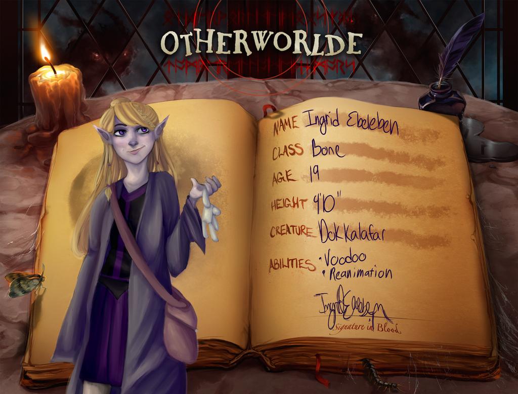 Ingrid Ebeleben - Otherworlde App by AdenChan